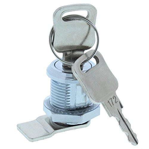 ToniTec Briefkastenschloss HebelZylinder universal M19 x 20mm