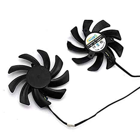 Graphics cooling fan for Sapphire HD6850 6970 7870 7950 HD7970 R9 280X 290