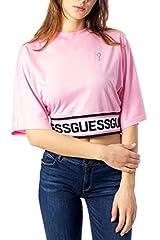 Guess Camiseta Mangas 3/4 Mujer Rosa