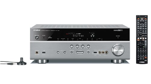 Yamaha RX-V 671 7.1 AV Receiver (HDMI, Upscaler 1080p, 3D Ready, 150 Watt, Apple iPhone/iPod kompatibel, Dolby TrueHD, USB 2.0) Titan