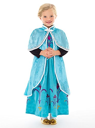 Little Adventures Ice Princess Dressup Costume Cloak - Size Lg/X-Large