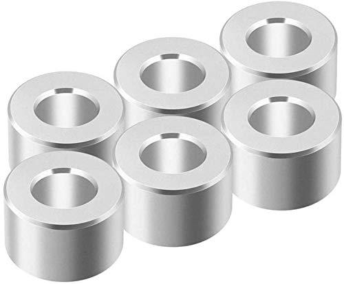 Accessori per stampanti 10/20 pezzi Parti della stampante 3D Distanziatore in alluminio Scanalatura a V Colonna di isolamento Pilastro separato Foro di quarantena 5 MM Per stampante 3D Durevole in uso