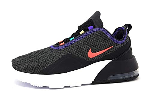 Nike Air MAX Motion 2, Zapatillas Hombre, Negro Black Flash Crimson University Gold 8, 43 EU