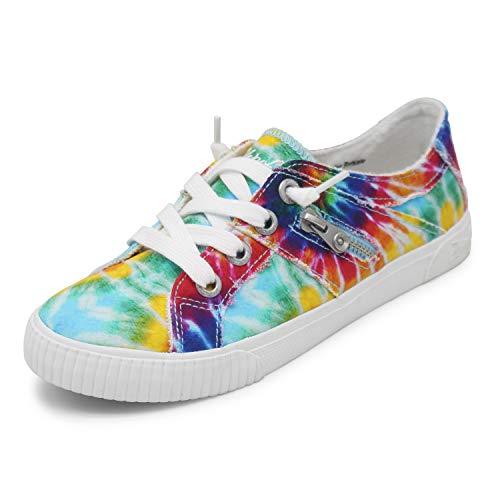 Blowfish Malibu womens Fruit Sneaker, Rainbow Tie Dye, 9 US