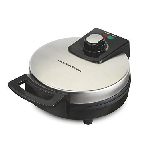 Hamilton Beach Belgian Waffle Maker with Adjustable Browning Control, Black Nonstick (26080)