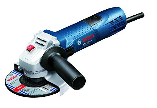 Bosch Professional 601388203 Smerigliatrice Angolare GWS 7-115 E con Protezione da Riavvio, Preselezione della velocità, in Scatola di Cartone, 720 W, 230 V, Blue/Nero