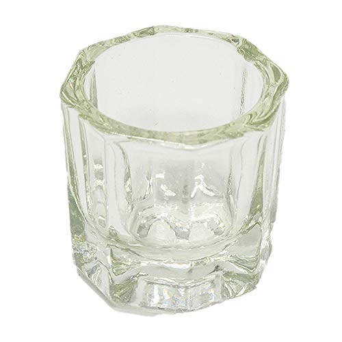Onyxnail - bicchierino vetro per nail art, micropittura, acrilico e pulizia pennelli - a1113