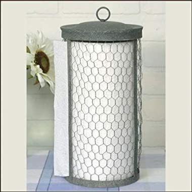 Chicken Wire Paper Towel Holder