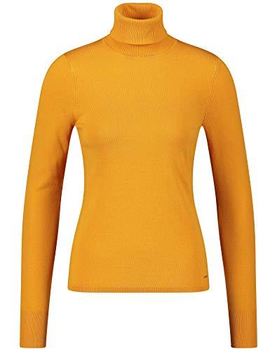 Taifun Damen 472025-19541 Pullover, Orange (Saffron 4050), Medium (Herstellergröße: M)