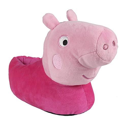Artesania Cerda Zapatillas DE CASA 3D Peppa Pig, Niña para Niñas, Rosa (Rosa C07), 27/28 EU