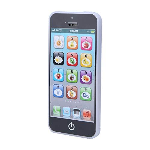 Juguete del teléfono móvil, plástico del aprendizaje temprano del juguete del teléfono móvil para la escuela casera para el regalo de cumpleaños(#0, 1)