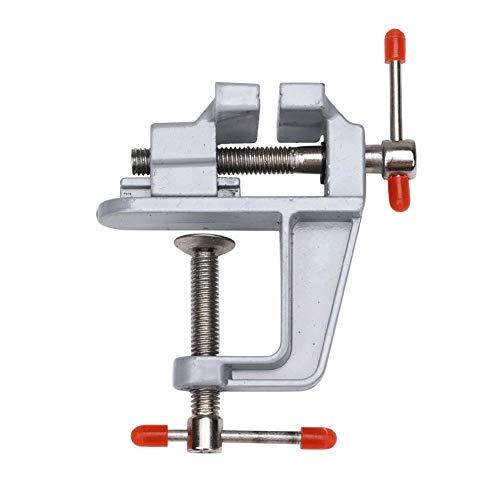 55 Stahl-Mini-Schraubstock mit verstellbaren Backen für Hobby-Arbeit, allgemeine Reparatur und handgefertigte Arbeiten