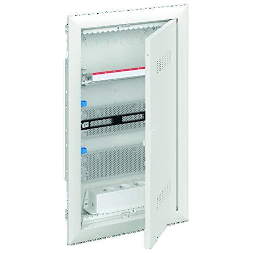 Striebel&John Mediaverteiler 3-reihig UK636MV m.PatchPanel+Tür Installationskleinverteiler 4011617313847
