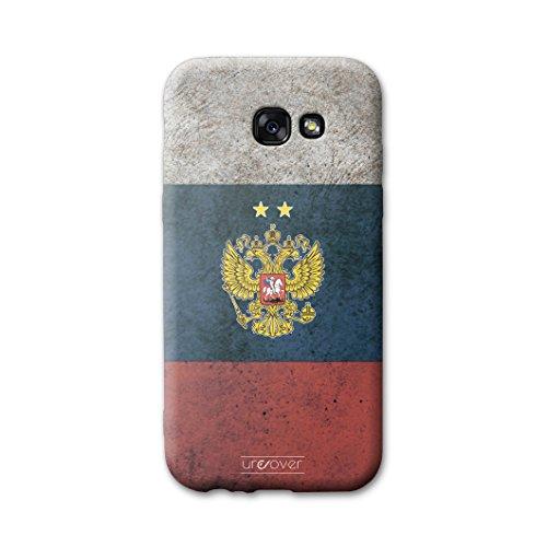 Urcover® Voetbalbeschermhoes compatibel met Samsung Galaxy A3 (2017) [Team] Voetbalhoes, Rusland.