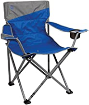 Coleman Big and Tall Camp Chair   Folding Beach Chair   Portable Quad Chair for Tailgating, Camping & Outdoors