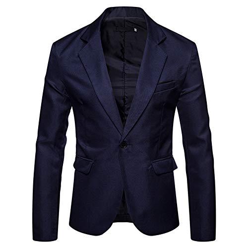 YOUTHUP Heren Casual Blazer Slim Fit Formele Zakelijke Pak Jassen Klassieke Chic Blazers Jas