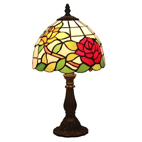 Odziezet Tiffany Estilo Lámpara de Mesa Lámpara de Cabecera Lámpara de Escritorio Lámpara de la Sala de Estar de la Barra