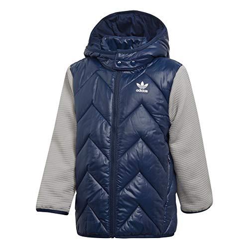 adidas Trf Ms Chaquetas, Blu, 7-8 A Unisex-Child