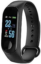 Smart Plus Fitness Tracker 2019 Bluetooth Pulsera inteligente móvil M3S Podómetro deportivo IP67 Monitor de frecuencia cardíaca a prueba de agua para Android M3 Llamada, recordatorio de alarma Agitación para cámara remota