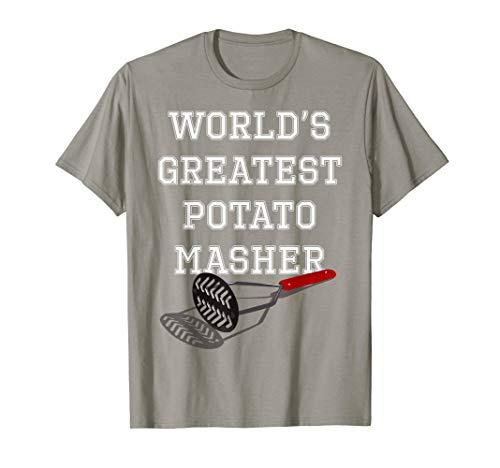 Potato Masher Thanksgiving Chef T-Shirt