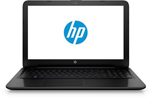 HP 15-ac127ng 39,6 cm (15 Zoll / Full HD) Laptop (Intel Pentium N3700, 4 GB RAM, 500 GB HDD, Intel HD Grafikkarte, SuperMulti DVD-Brenner, Windows 10) schwarz
