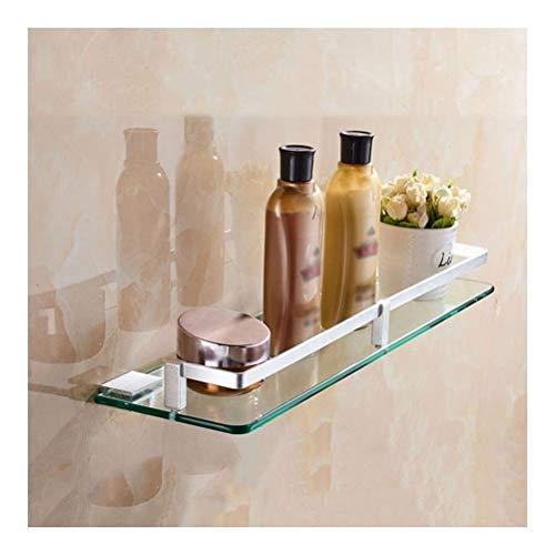 Hoeken, opbergdoos voor glazen deuren, ruimte, aluminium, douchemand, van gehard glas, verstelbaar, voor badkamer, tidy tablet, 25~60 cm, 11-14-17 40cm