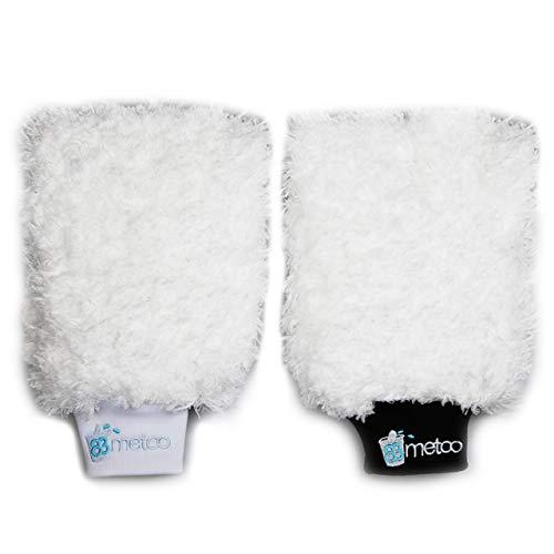 83metoo Wonder Washer Waschhandschuh Doppelpack Schwarz & Weiß