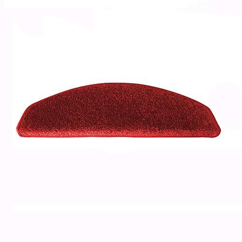 Eastery Xrxy Einfache Volltonfarbe Treppenmatte Selbstabsorbierende Teppich Massivholz Treppe Schutz Pad Einfacher Stil Anti Korrosions Schritt Matte (7 Farben Optional) (Eine Packung Von 1) (