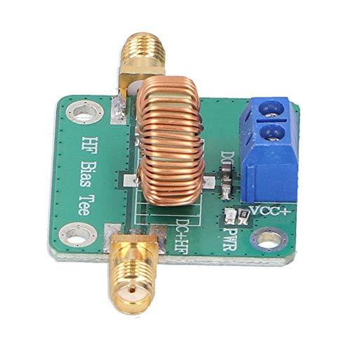 DC Bias Tee 0,2–180 MHz RF Modul Professional mit Wärmeableitungsbereich RF DC Block Bias Tee PCB RF Mikrowelle Signal Modul für Breitband-Verstärker