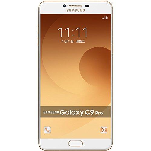Samsung Galaxy C9 Pro C9000 64GB Gold, Dual Sim, 6', GSM Unlocked International Model, No Warranty