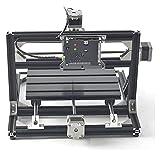 HLD máquina de grabado Móvil CNC Grabador de husillo del enrutador BRICOLAJE Máquina de grabado de molienda de madera Máquina de grabado multifunción grabado en madera de madera acrílico TARJETA DE CI