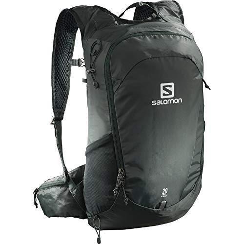 Salomon, Zaino multifunzionale Trailbalzer da 20 l, 3D Comfort e Sistema di idratazione, Per Escursionismo e Trail Running