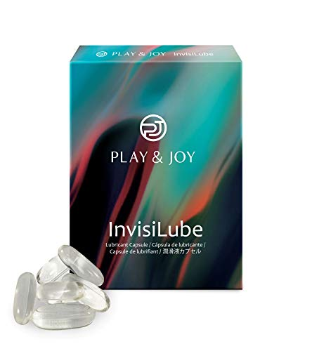 MOJUMOJO Play & Joy InvisiLube Premium Silicone Based Personal Lubricant Capsule Beads (10 Capsules)