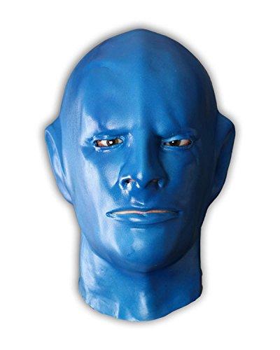 Fantomas Maske aus Schaumlatexmaske Faschingsmaske. Verwandlung mit einer Profimaske.
