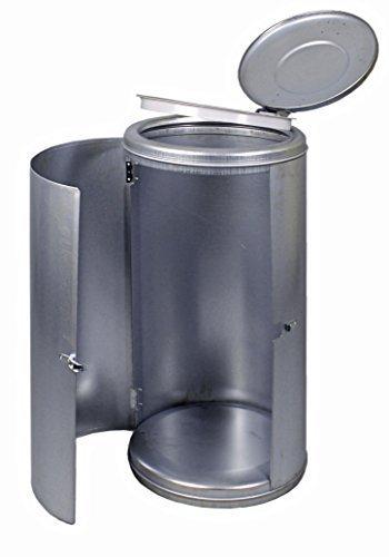 Abfallsammler Müllsackständer verzinkt 120 L mit Spannverschluß