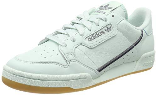adidas Continental 80, Zapatillas de Gimnasia Hombre, Verde (Ice Mint/Collegiate Navy/Grey Ice Mint/Collegiate Navy/Grey), 36 2/3 EU