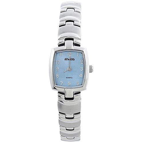 DUWARD Reloj para Mujer Analógico Cuarzo con Correa de Acero Inoxidable D2104015
