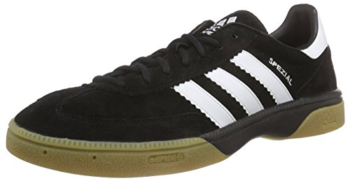 Adidas Performance Hb Spezial, Handball Adulte Mixte Noir (Black 1Running WhiteBlack 1) 43 13 EU (Taille Fabricant : 9 UK)