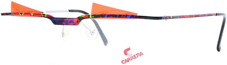 Carrera 5786 39 orange and Purple Authentic Women Vintage Eyeglasses Frame