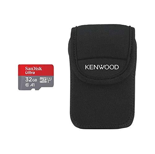Kenwood 32GB Ultra Micro SD-Card + FOC Carry Case Logo