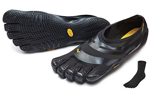 Fivefingers Vibram EL-X - Calcetín para dedos (talla: 42), color negro