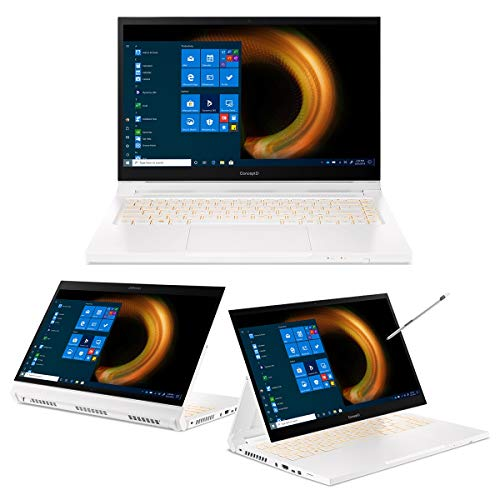 ConceptD 3 Ezel CC314-72G-78LT Notebook con Processore Intel Core i7-10750H, Ram 16 GB, 1024GB PCIe NVMe SSD, Display 14