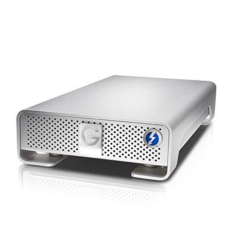 G-Technology G-DRIVE 10TB Enterprise Clase 7200 RPM, 250MB/s, con Thunderbolt 2, USB 3.0
