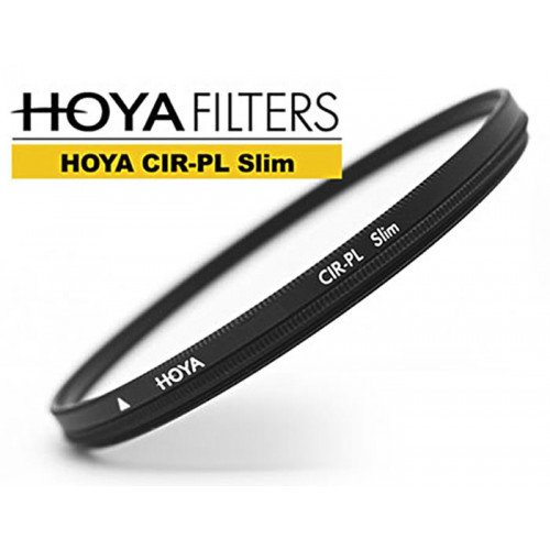 Filtro Polarizador Circular Slim, Hoya CIR-PL SL58, Preto