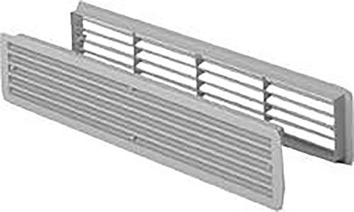 Badezimmer Lüftungen Nr.9020 weiss Türlüftung Kunststoffgitter (Weiss)