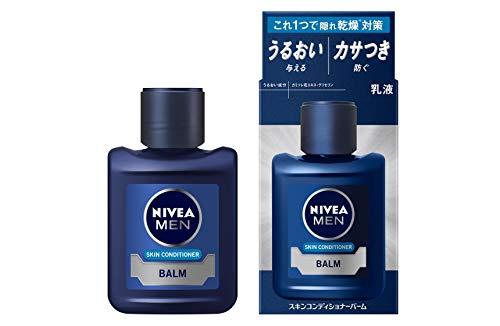 【Amazon.co.jp限定】 ニベアメン スキンコンディショナーバーム [ メンズ乳液 ] [ 乾燥肌 ] [うるおいを与える] [ カサつき・肌荒れを防ぐ ] [ ノンアルコールタイプ ] リキッド 110ミリリットル (x 1)