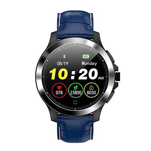 Boyuan W8 Smartwatch Android iOS Bluetooth Smart Sport Wasserdichter Pulsmesser Blutdruckmessung Schrittzähler Anruferinnerung Aktivitäts-Tracker Schlaf-Tracker Sitzende Erinnerung,Blau