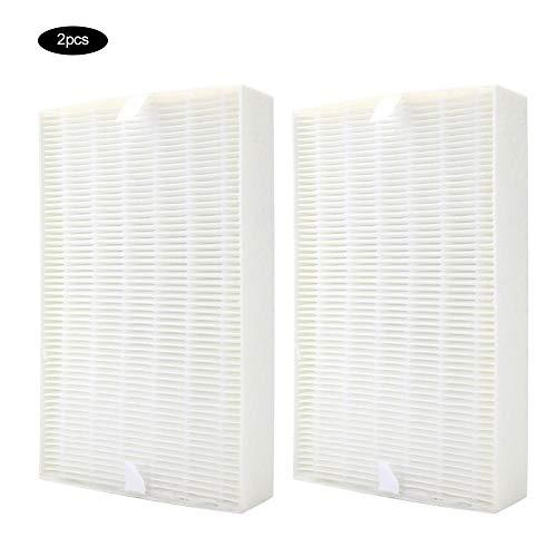 Duokon 2 Piezas Accesorios de Repuesto de Filtro de purificación de Aire Universal Aptos para Honeywell HRF-R1 HPA100 / 200/090
