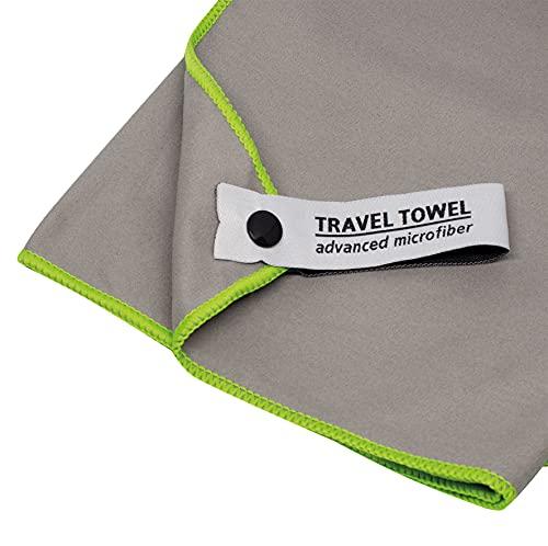 Toalla de Microfibra TravelSafe - Gris (S)