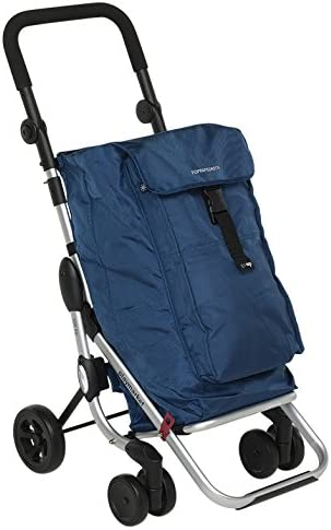 "Foppapedretti ""Go Up"" Shopping Trolley black"